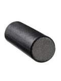 Black Foam Roller High Density 45 cm